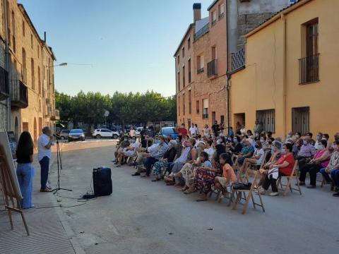 El Pop Pino Quartet va actuar a Llardecans on va assistir el president del Consell Comarcal del Segrià, David Masot.