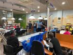 El tret de sortida dels cursos es va dur a terme ahir dimarts al vespre a la biblioteca de Corbins