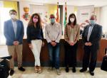 Reunió entre els representants del Consell Comarcal del Segrià i els de la Unió de Polígons de Catalunya (UPIC).